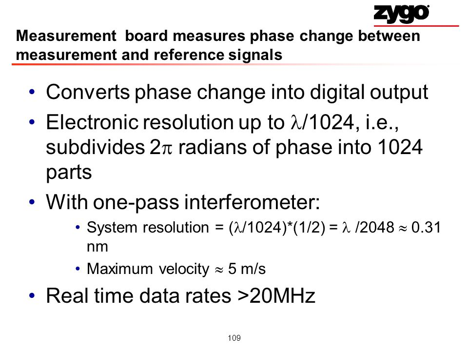 Converts phase change into digital output