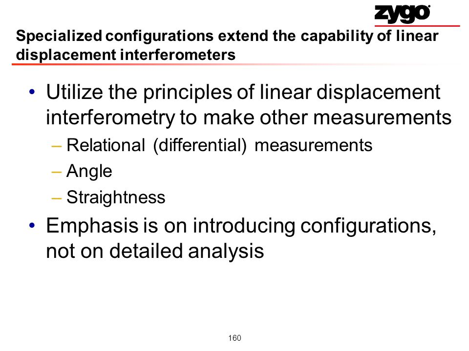 Emphasis is on introducing configurations, not on detailed analysis