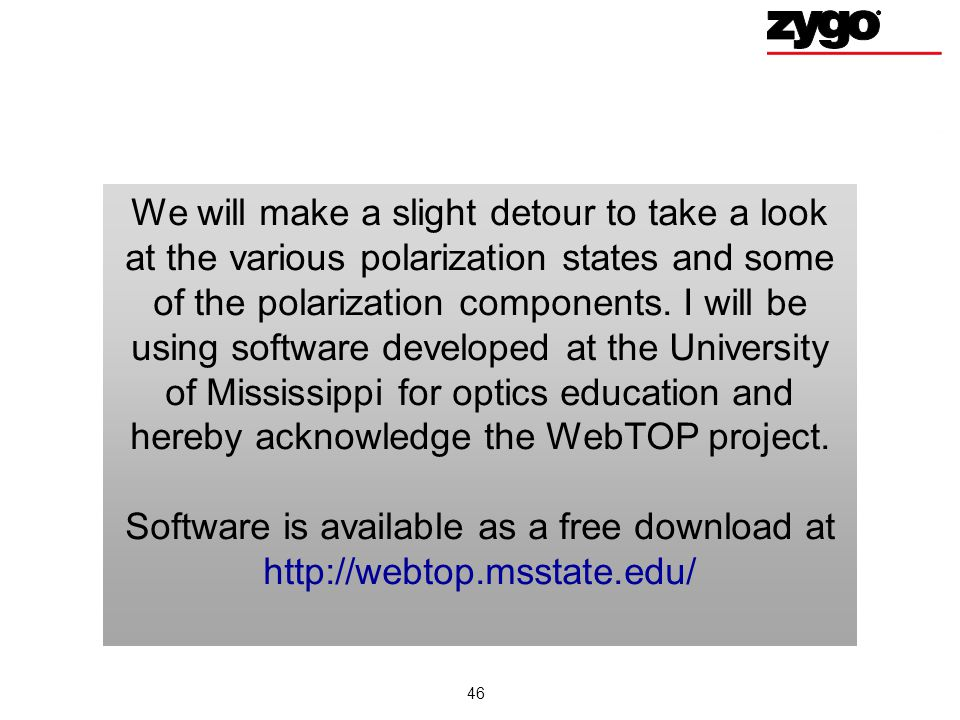 Software is available as a free download at