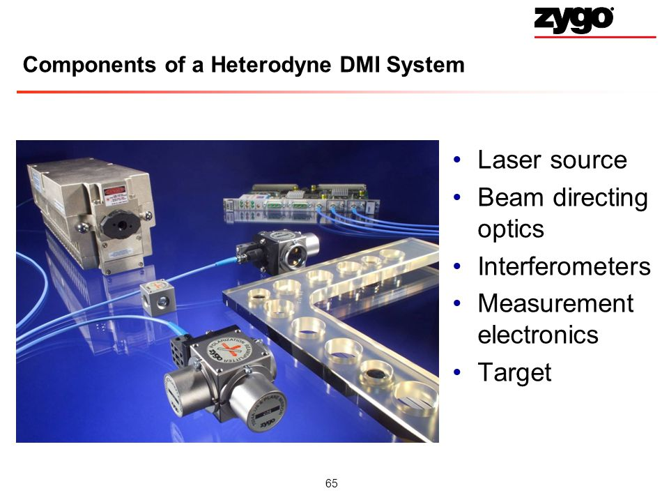 Components of a Heterodyne DMI System
