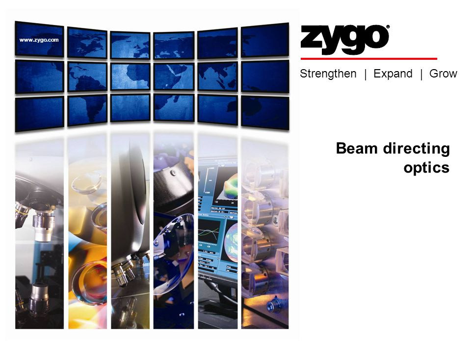 Beam directing optics ASPE 2008 Intro. to Displacement Interferometr