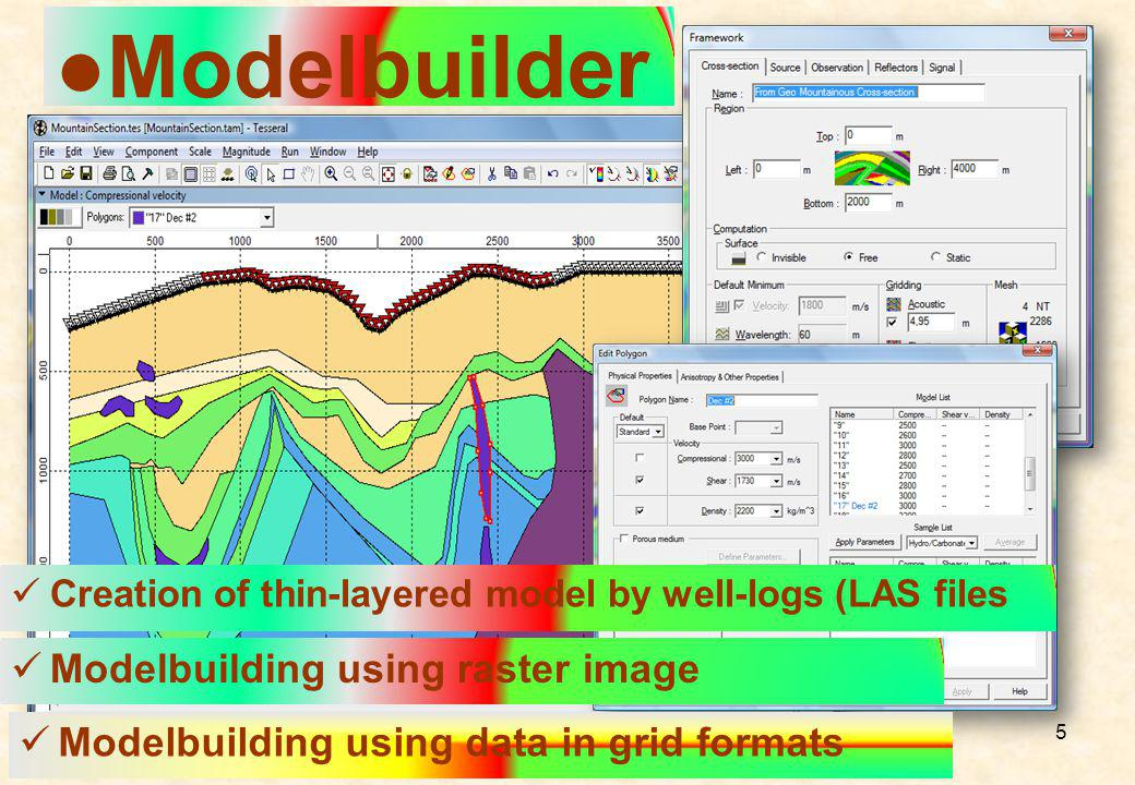 ●Modelbuilder Modelbuilding using raster image