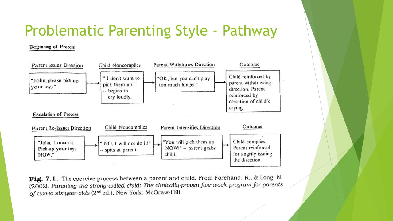 Problematic Parenting Style - Pathway