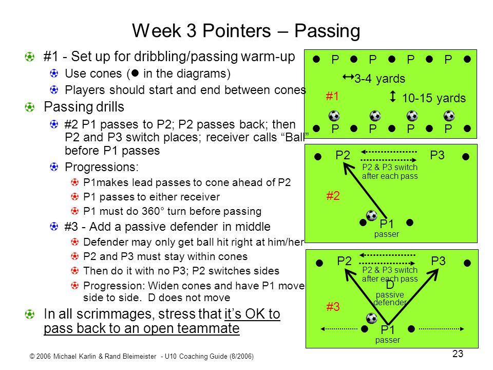 Week 3 Pointers – Passing