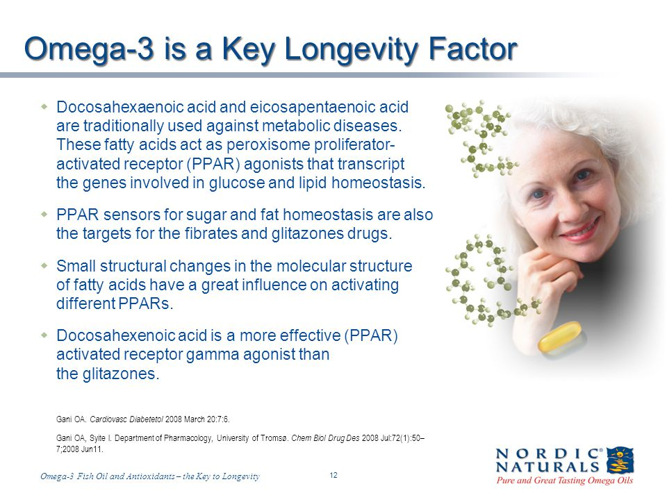 Omega-3 is a Key Longevity Factor