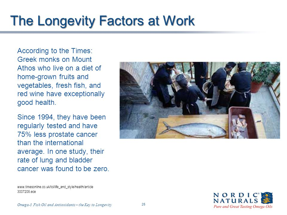 The Longevity Factors at Work