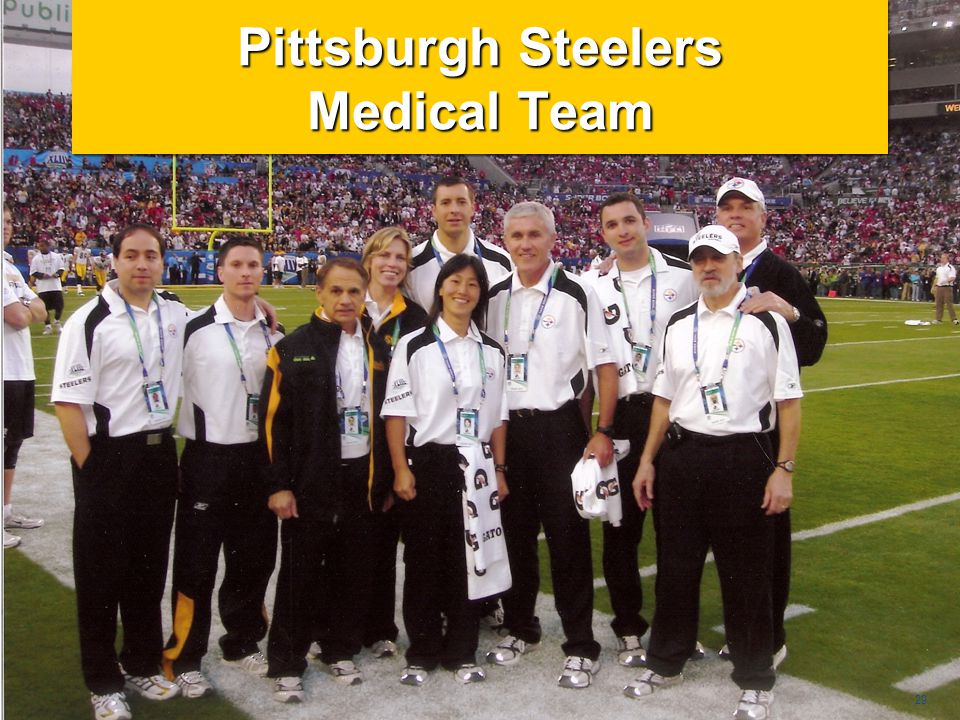 Pittsburgh Steelers Medical Team
