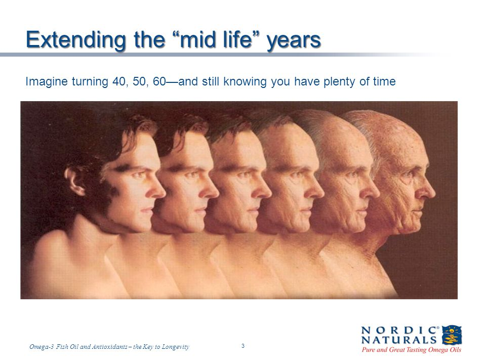 Extending the mid life years
