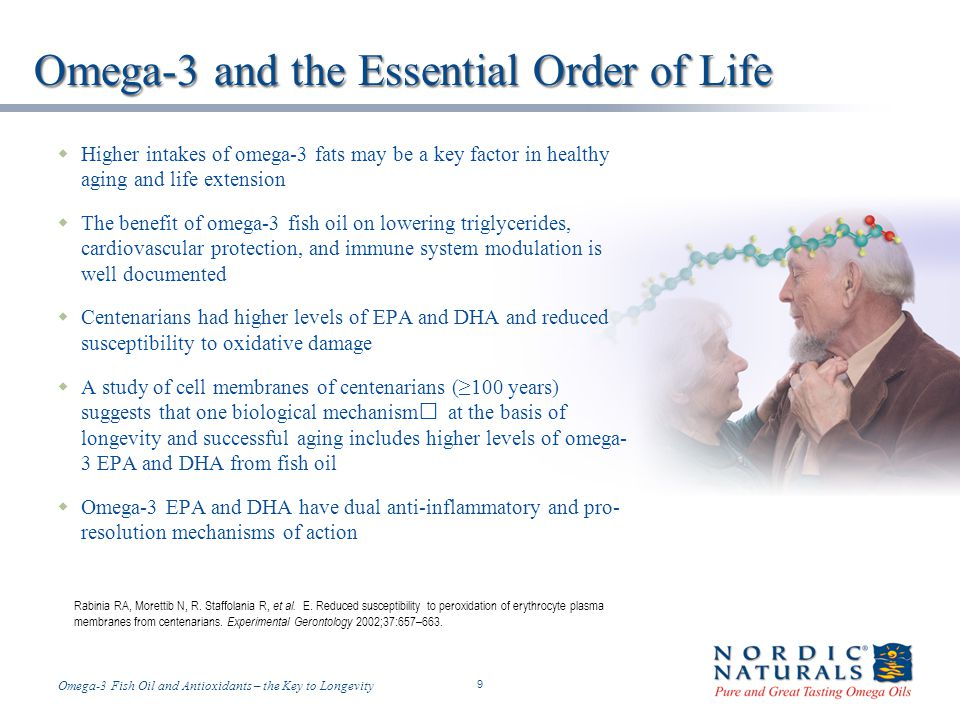 Omega-3 and the Essential Order of Life