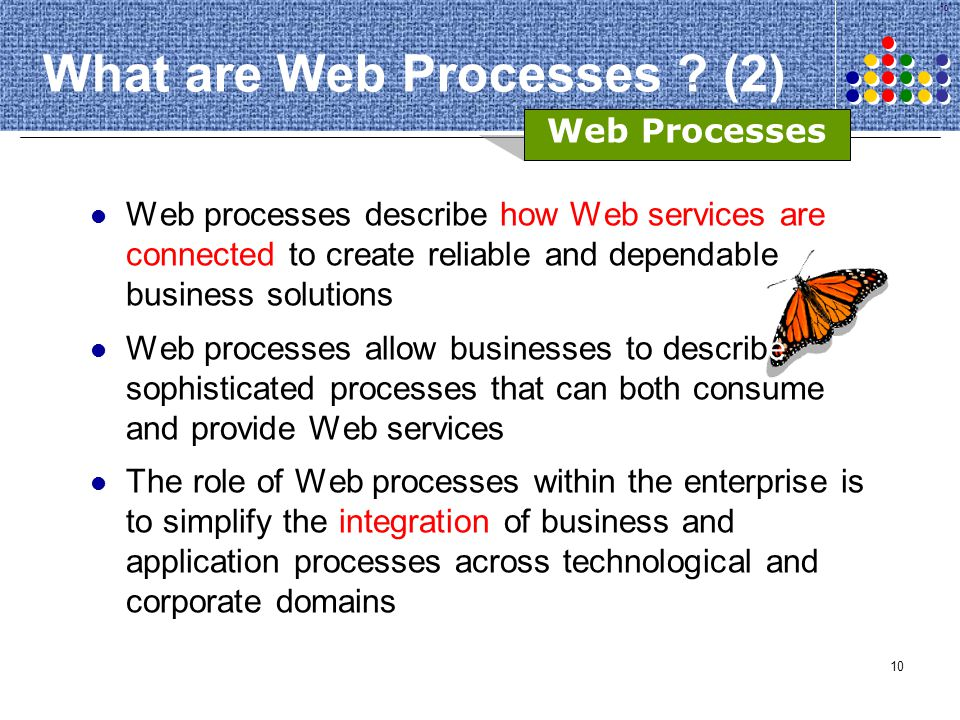 What are Web Processes (2)
