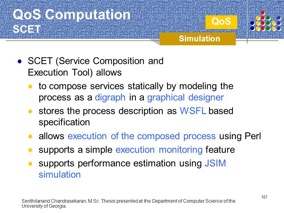 QoS Computation SCET QoS