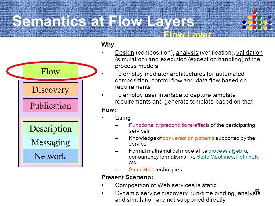 Semantics at Flow Layers