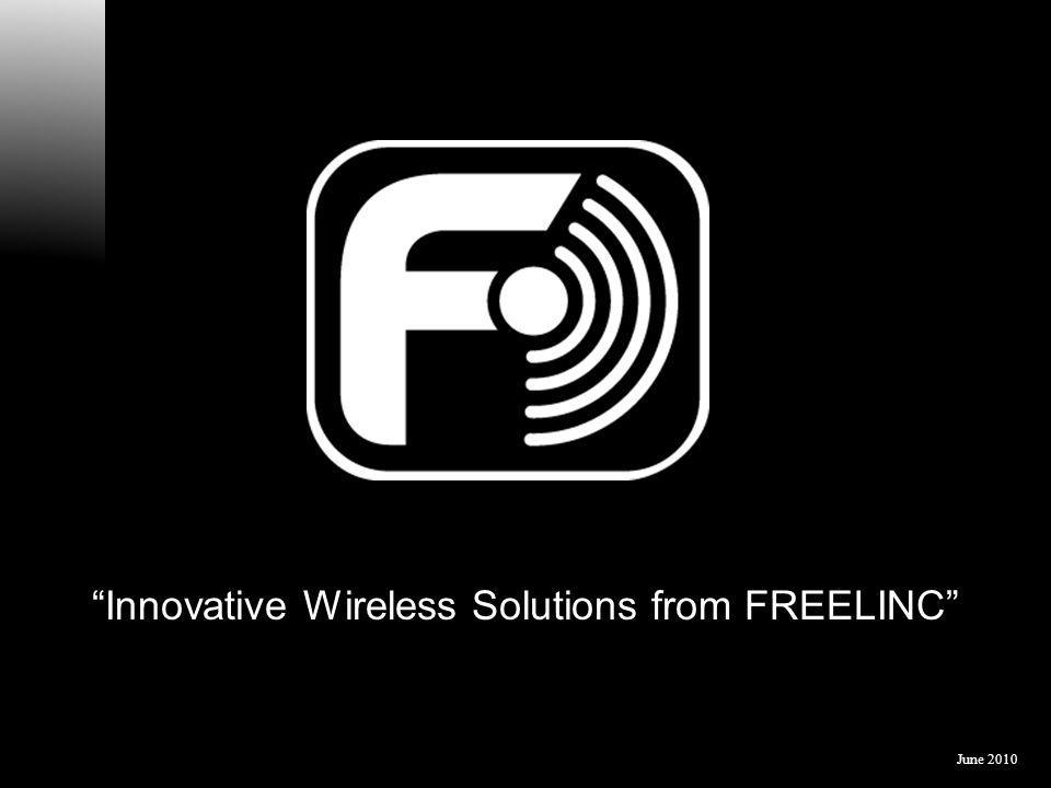 Innovative Wireless Solutions from FREELINC