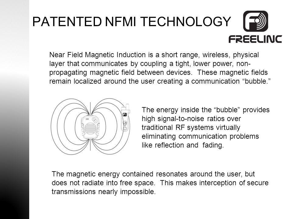 PATENTED NFMI TECHNOLOGY