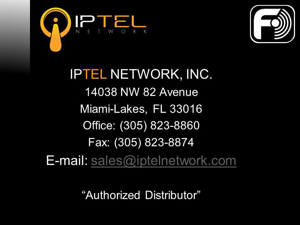 E-mail: sales@iptelnetwork.com