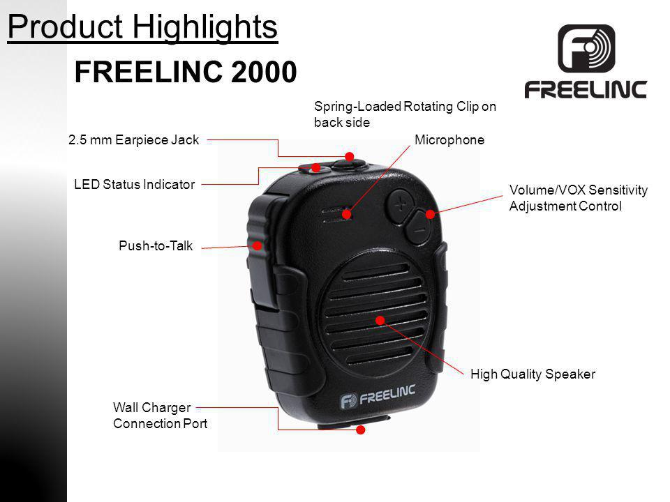 Product Highlights FREELINC 2000