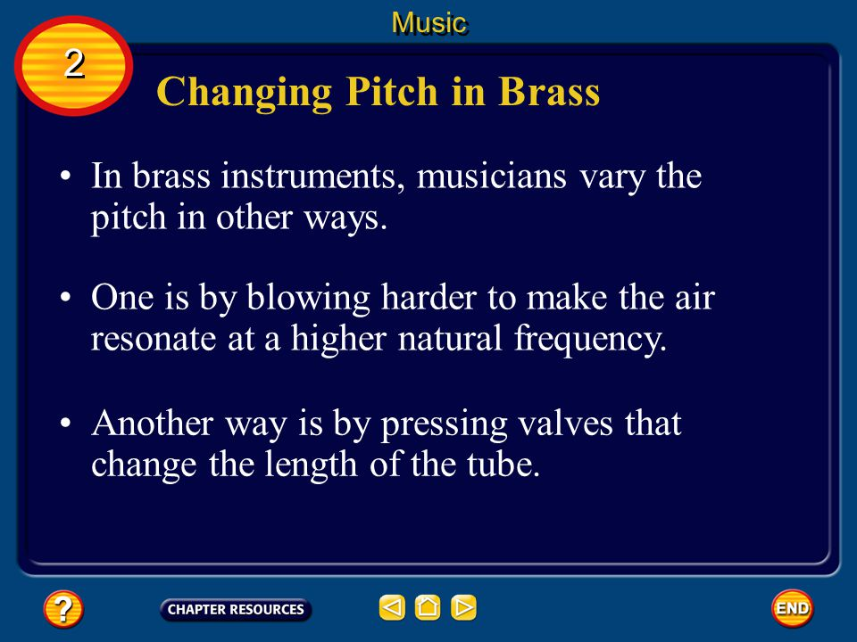 Changing Pitch in Brass