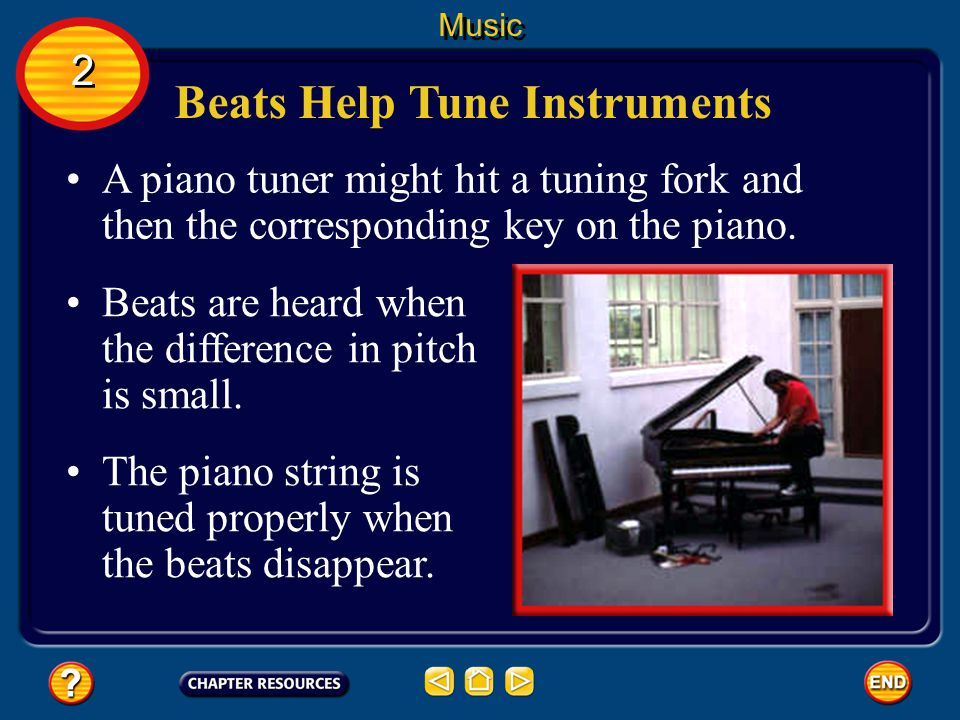 Beats Help Tune Instruments