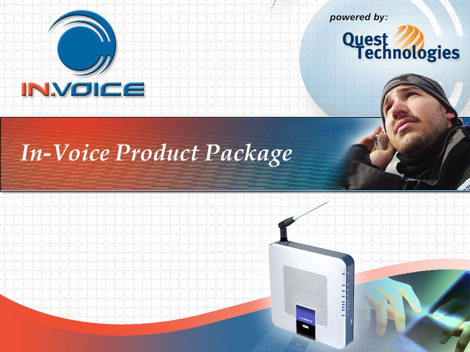 In-Voice Product Package