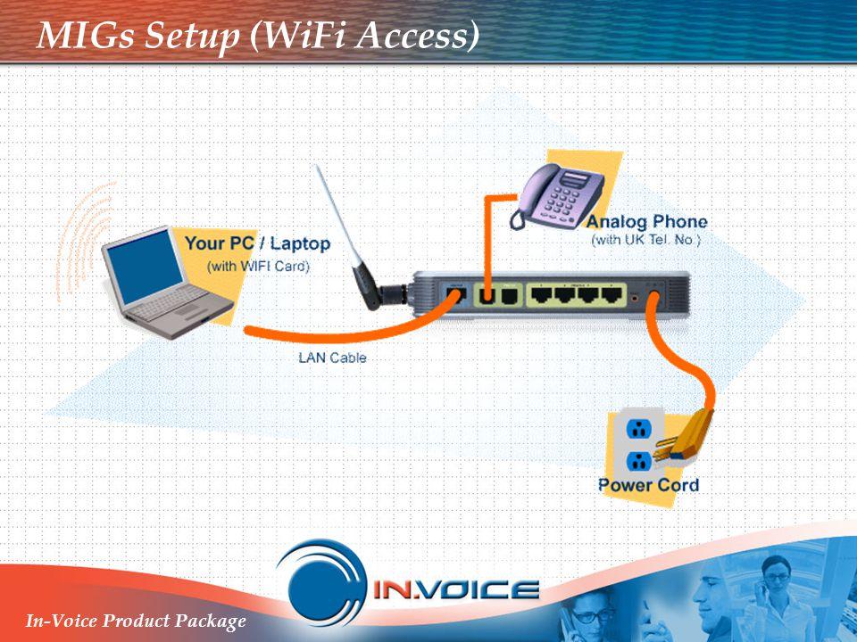 MIGs Setup (WiFi Access)
