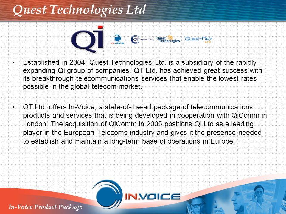 Quest Technologies Ltd