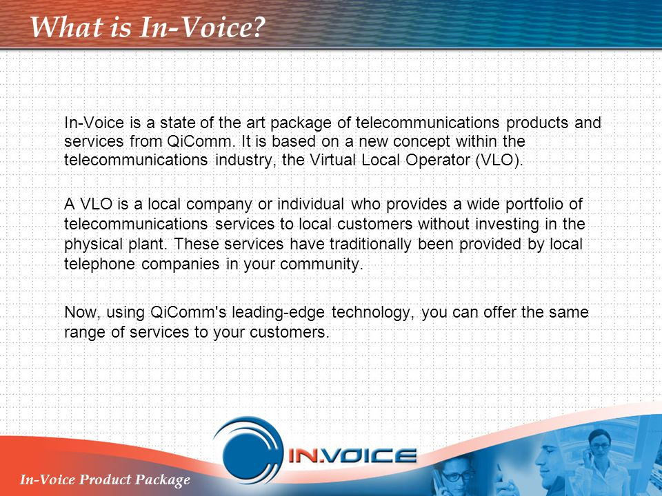 What is In-Voice