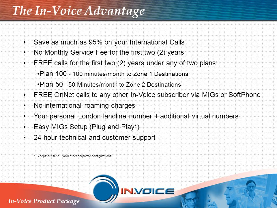 The In-Voice Advantage