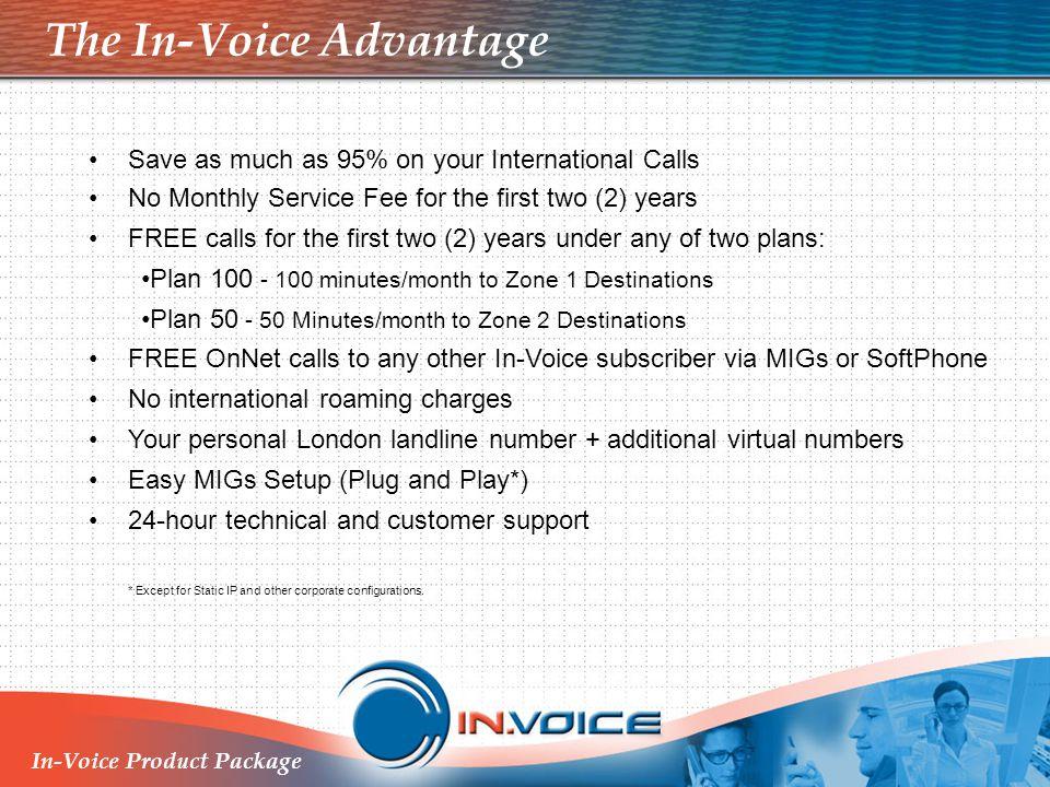 The In-Voice Advantage