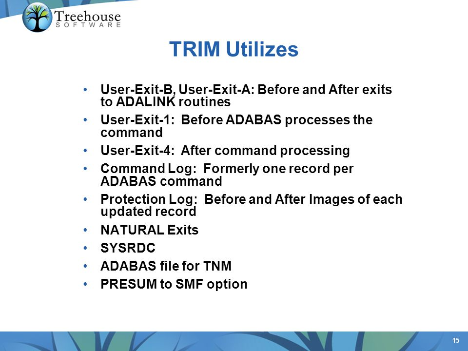 Often we hear But TRIM requires a big Command Log. This is false