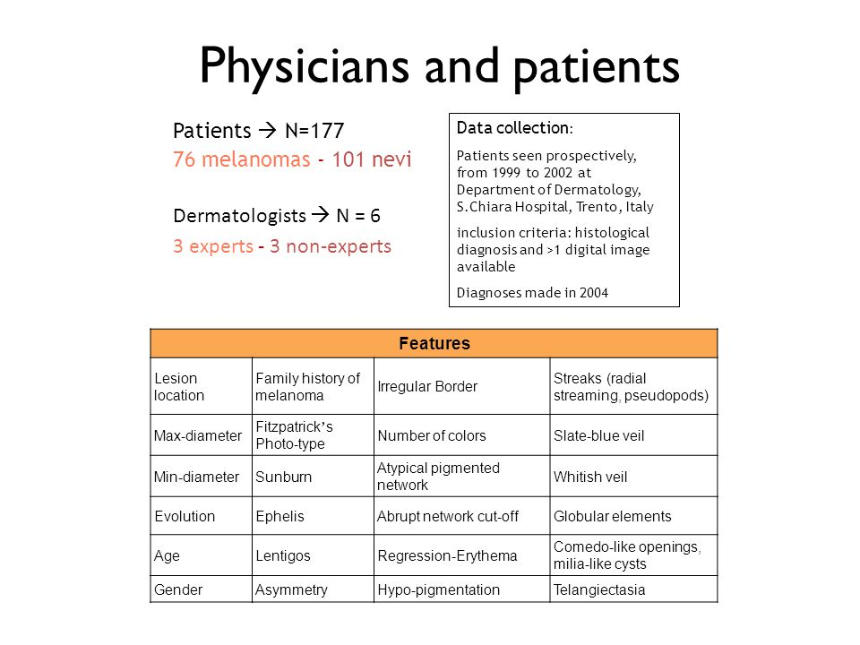 Physicians and patients
