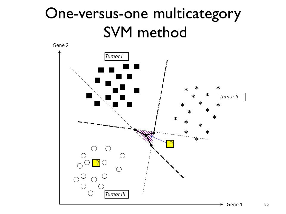 One-versus-one multicategory SVM method
