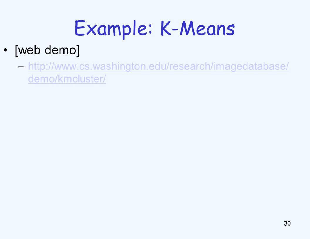 K-Means as Optimization