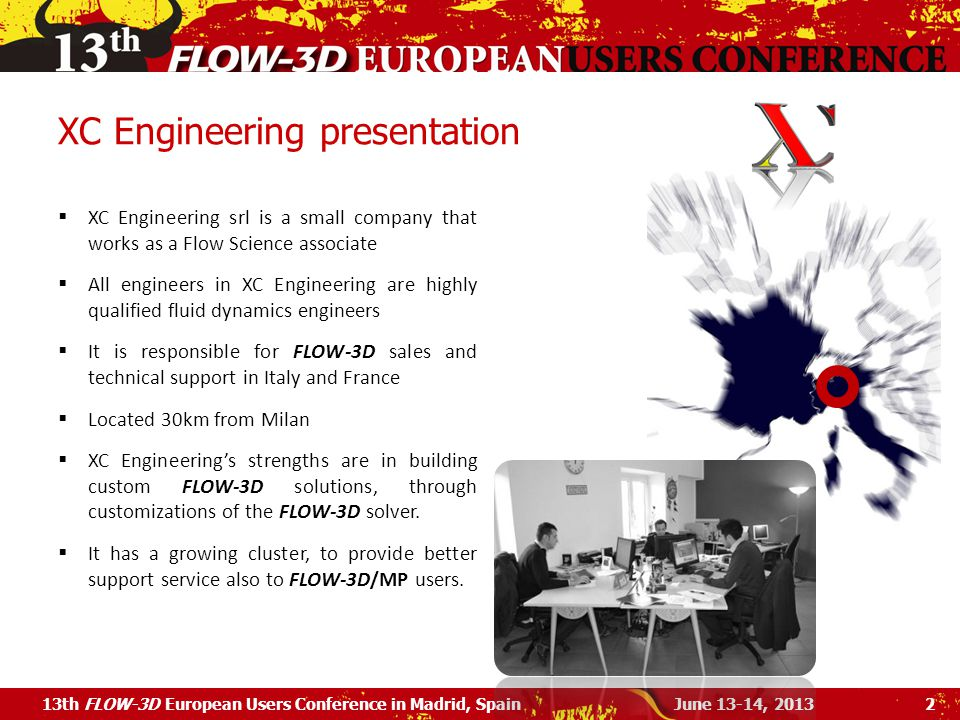 XC Engineering presentation