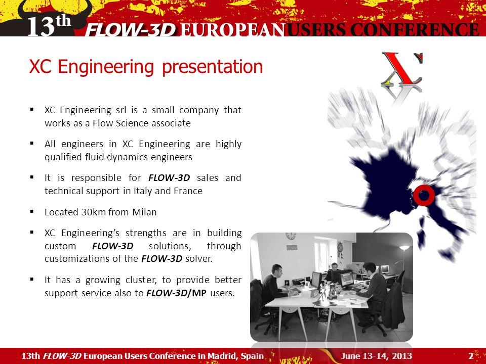 XC Engineering presentation