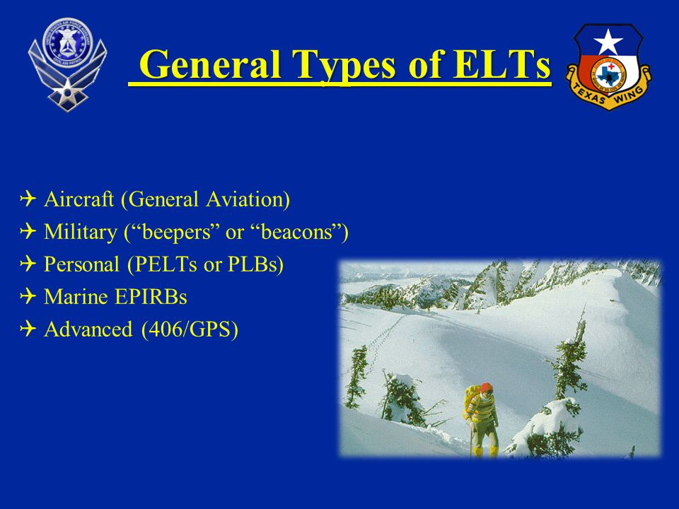 General Types of ELTs Aircraft (General Aviation)