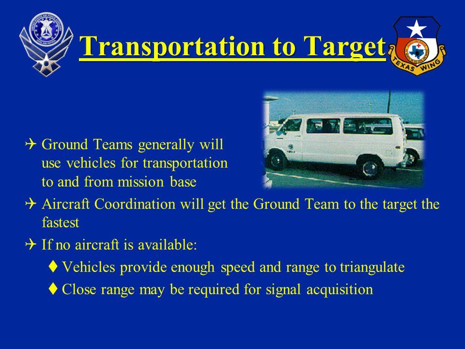 Transportation to Target