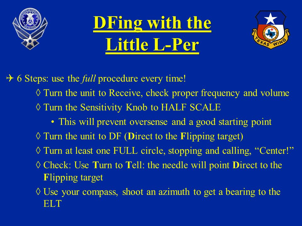 DFing with the Little L-Per