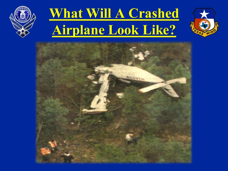 What Will A Crashed Airplane Look Like