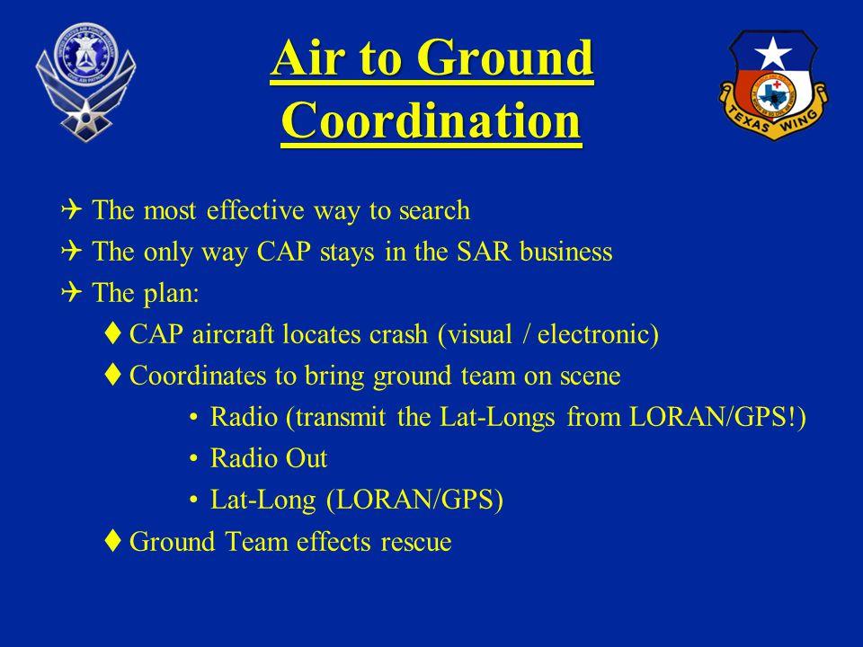 Air to Ground Coordination