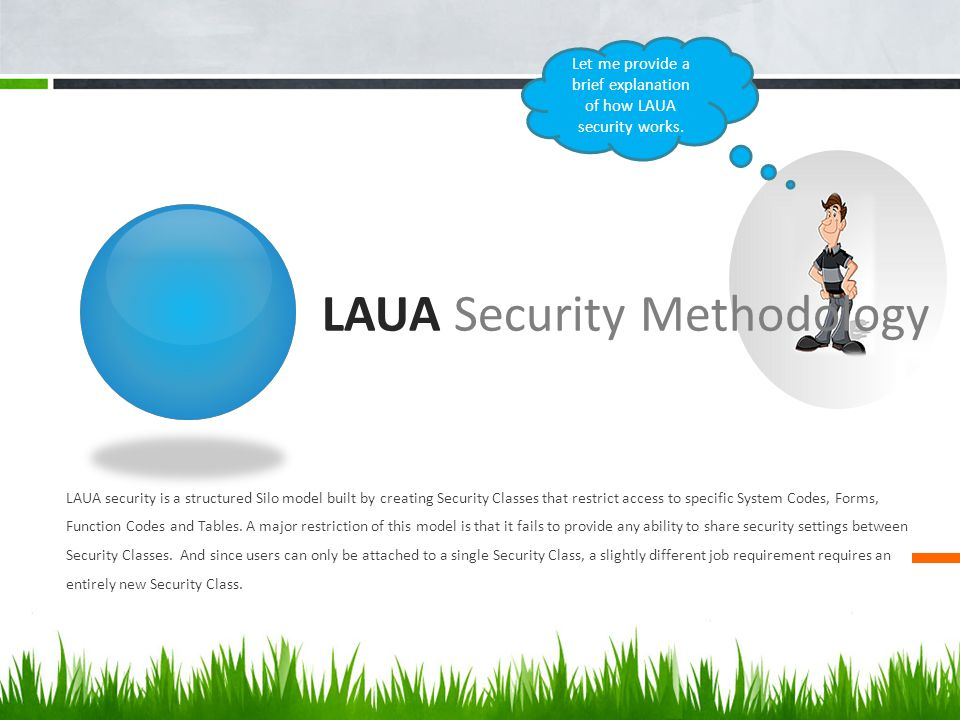 LAUA Security Methodology