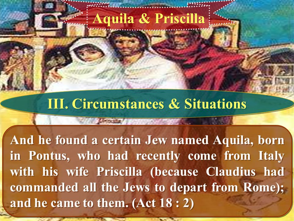 III. Circumstances & Situations