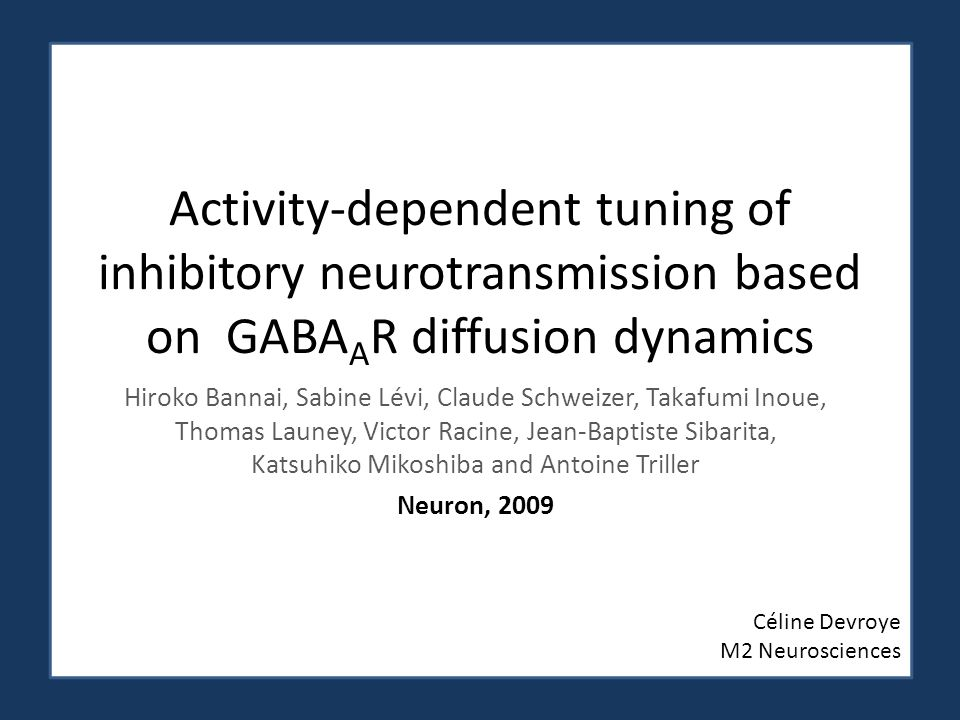 Activity-dependent tuning of inhibitory neurotransmission based on GABAAR diffusion dynamics