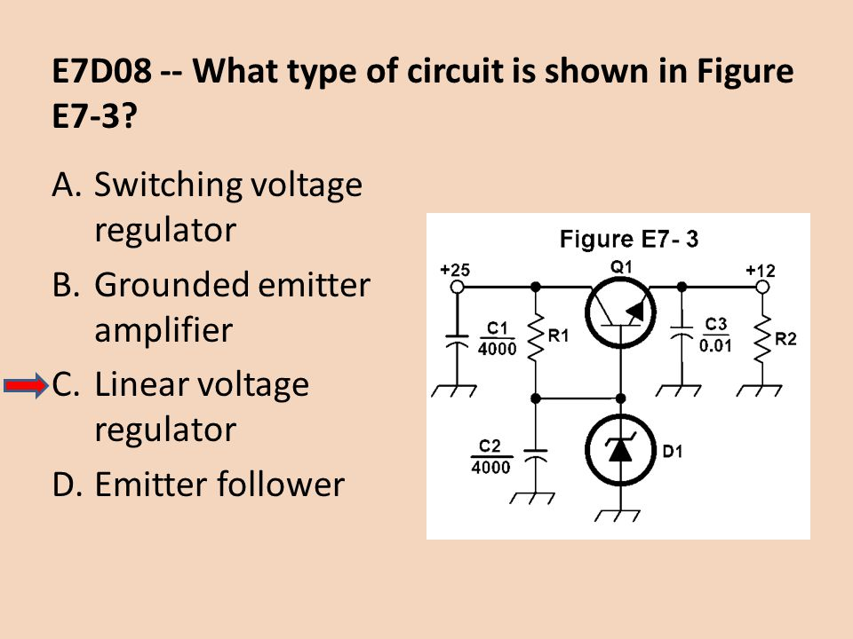 E7D08 -- What type of circuit is shown in Figure E7-3