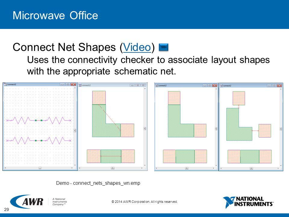 Connect Net Shapes (Video)