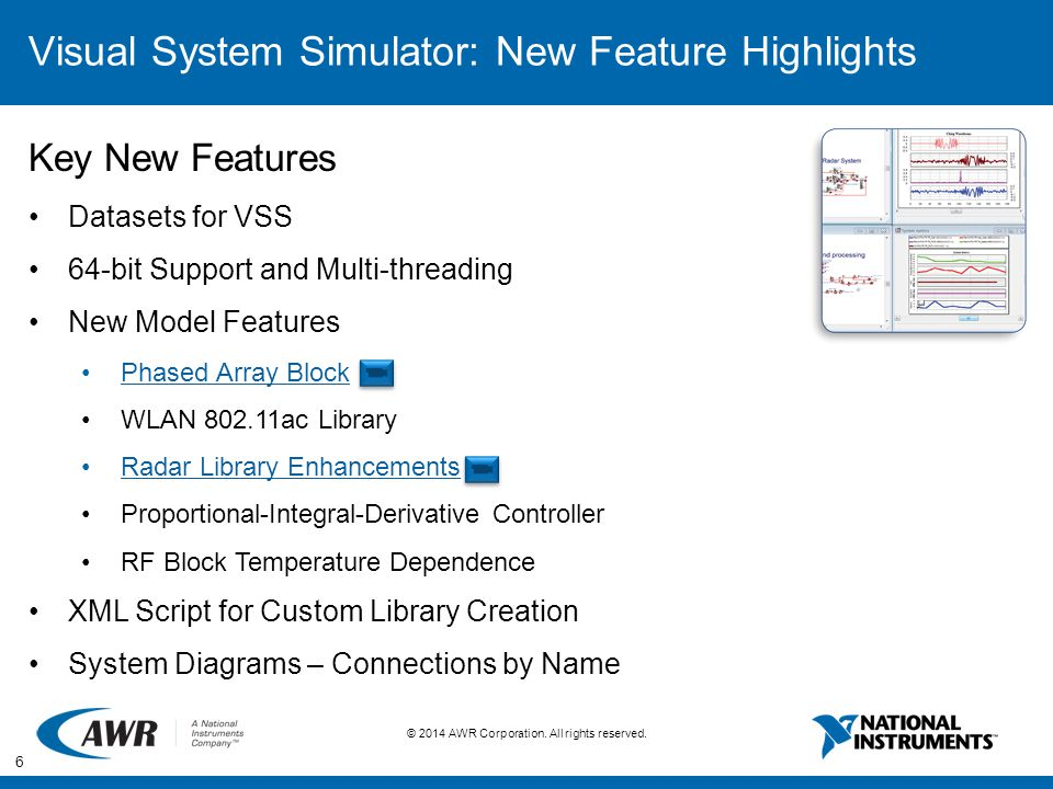 Visual System Simulator: New Feature Highlights