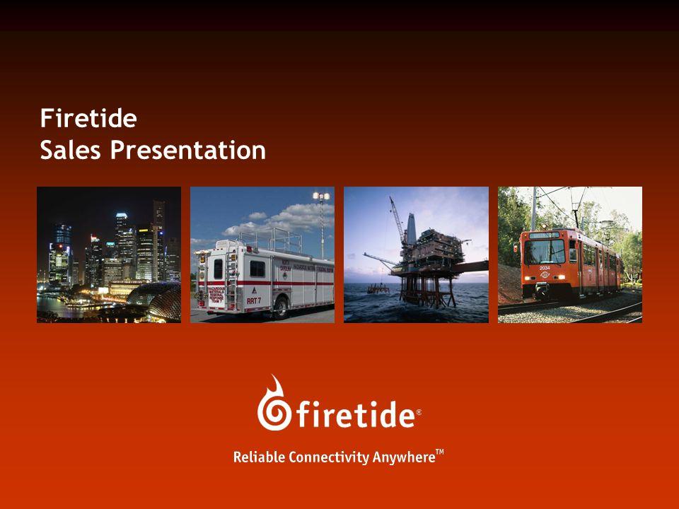 Firetide Sales Presentation
