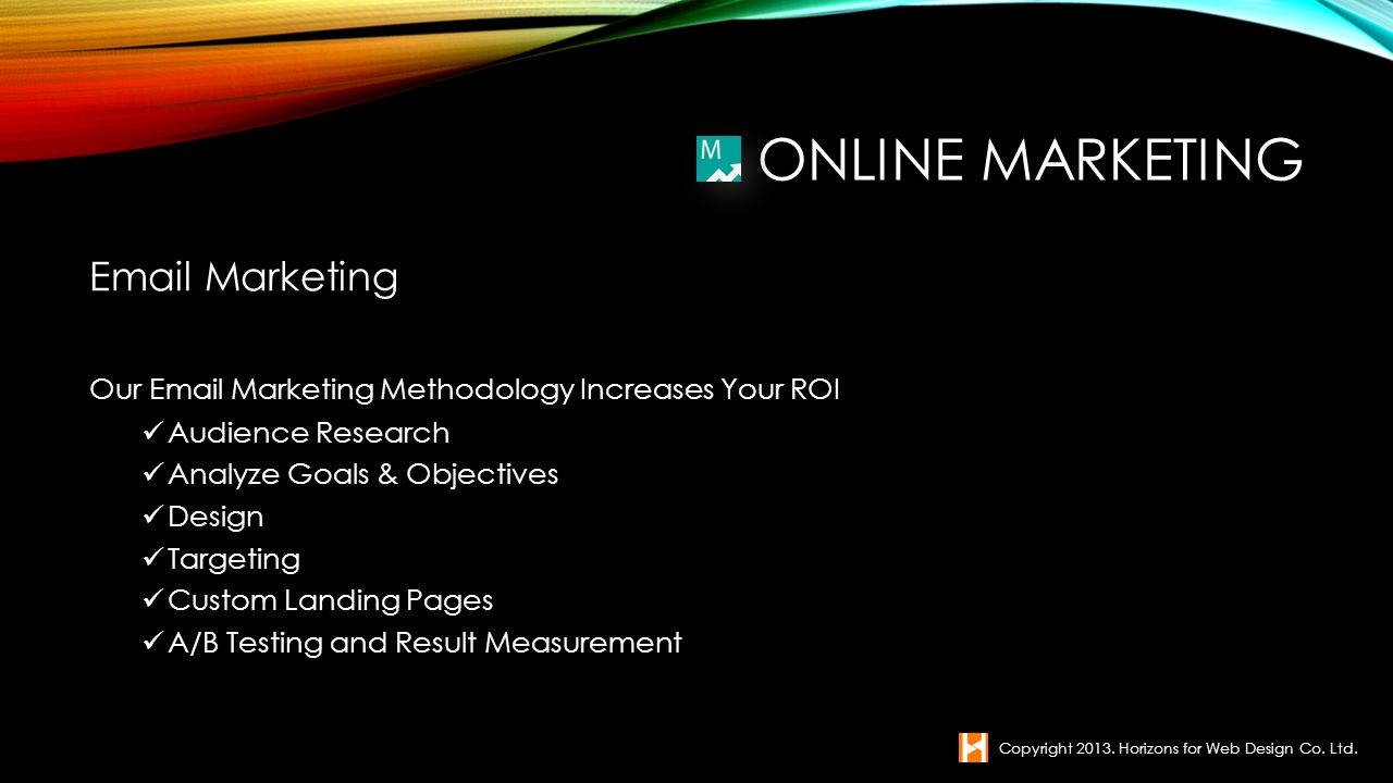 Online Marketing  Marketing