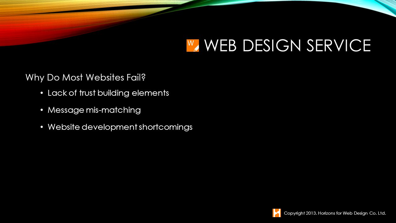 Web Design service Why Do Most Websites Fail