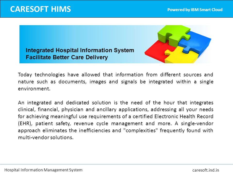 CARESOFT HIMS Integrated Hospital Information System