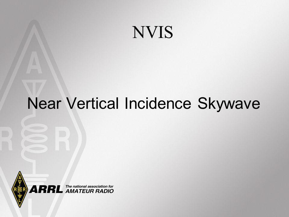 Near Vertical Incidence Skywave